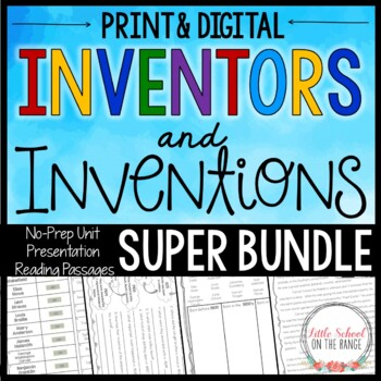 Inventors and Inventions SUPER BUNDLE