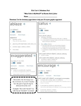Inventors and Inventions Worksheet Pack! (DCPS Unit 1 Common Core Aligned)