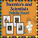 Scientist and Inventor Bulletin Board Posters