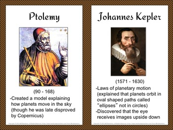 Scientist and Inventor Trading Cards and Posters