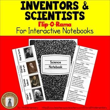 Inventors and Scientists Interactive Notebook