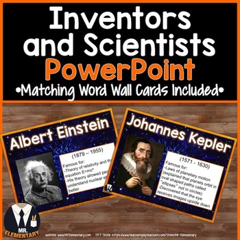 Inventors and Scientists PowerPoint