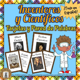 Inventors and Scientists - in Spanish