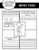 Inventors and Their Inventions Graphic Organizers and Posters