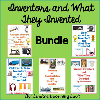 Inventors and What They Invented Bundle