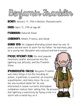Inventors and their Inventions