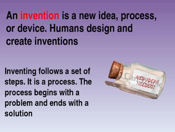 Inventors are Problem Solving