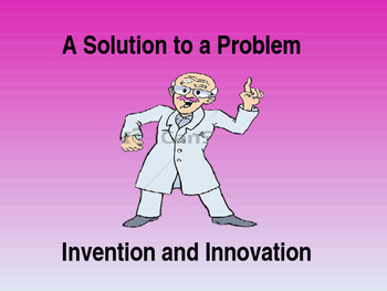 Inventors are Problem Solving