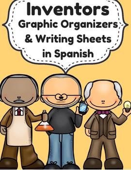 Inventors in Spanish (Inventores- organizador grafico y escritura)
