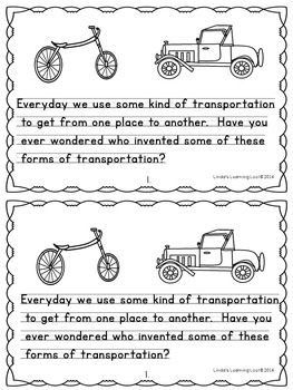 Inventors of Transportation and What They Invented