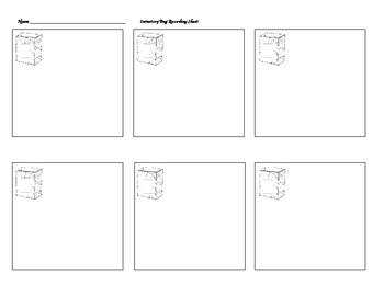 Inventory Bag Recording Sheet