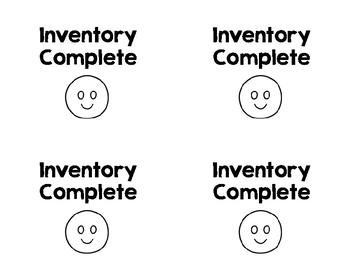 Inventory Freebie