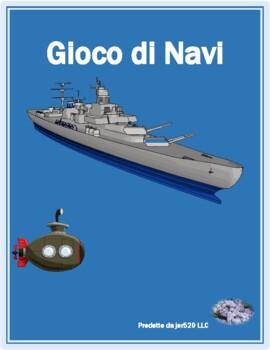Inverno (Winter in Italian) Battaglia navale Battleship game