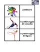 Inverno (Winter in Italian) Concentration games