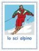 Inverno (Winter in Italian) Posters