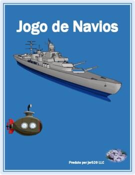 Inverno (Winter in Portuguese) Batalha naval Battleship game
