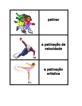 Inverno (Winter in Portuguese) Concentration games