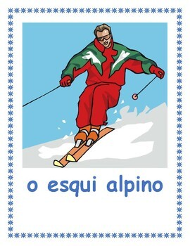 Inverno (Winter in Portuguese) Posters