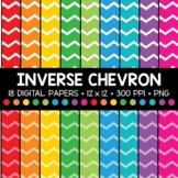 Inverse Chevron Digital Paper