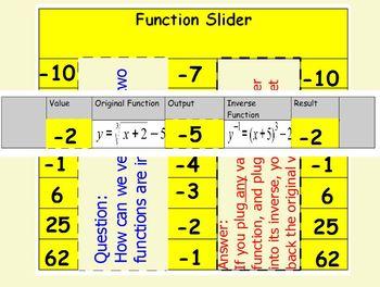 Inverse Function Slider
