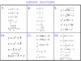 Inverse Functions: Match-Up (Algebra 2 / PreCalculus)