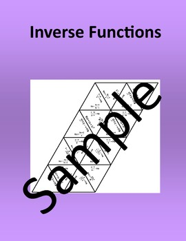 Inverse Functions – Math puzzle