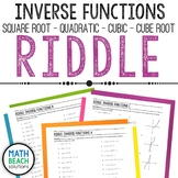 Inverse Functions Riddle Activity