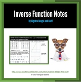 Inverse Functions Scaffold Notes