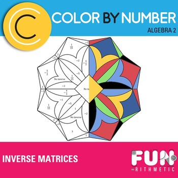 Inverse Matrices Color by Number