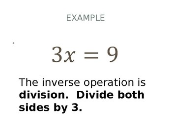 Inverse Operations (1-step) Karuta Game