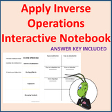 Inverse Operations Interactive Notebook