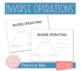 Inverse Operations Mats *FREEBIE*