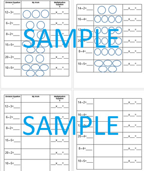 Inverse Operations Multiplication Division Differentiated Organizer