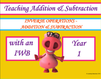 Inverse Operations with Addition and Subtraction Year 1