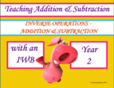 Inverse Operations with Addition and Subtraction Year 2