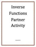 Inverse Relations Partner Activity