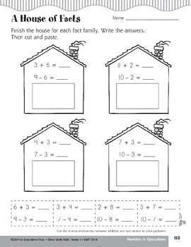 Inverse Relationship Between Addition & Subtraction