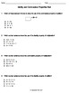 Identity and Commutative Properties Assessments