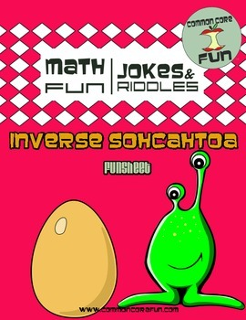 Inverse SOHCAHTOA FUN Works... by Common Core Fun | Teachers Pay ...