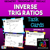 Inverse Trigonometric Ratios (Sine, Cosine & Tangent)  Finding Angles Task Cards