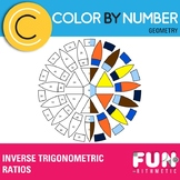 Inverse Trigonometric Ratios Color by Number