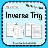 Inverse Trig Activity: Math Sprints