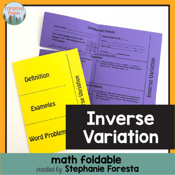 Inverse Variation Foldable