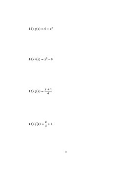 Inverse functions 3