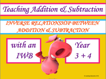 Inverse relationship between addition and subtraction