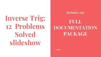 Inverse Trig 12 Solved Problems Slideshow