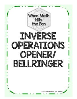 Inverses Opener/Bell Ringer