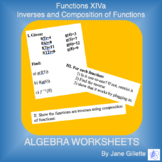 Functions XIVa - Inverses and Composition of Functions