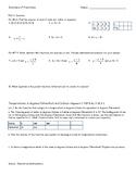 Inverses of Functions Practice Worksheet