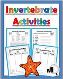 Invertebrate Animal Activities (Animal Classification) - Free